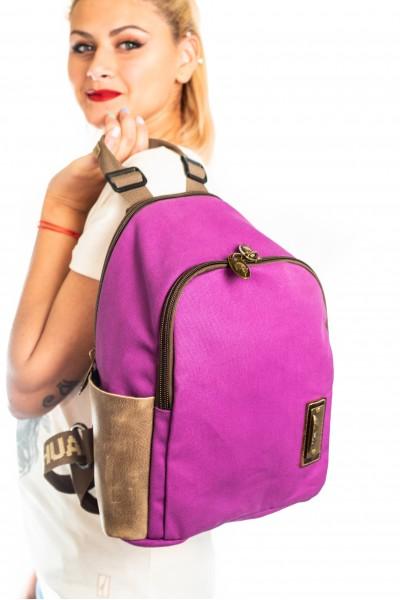 Algodón Púrpura Piel Café 3125